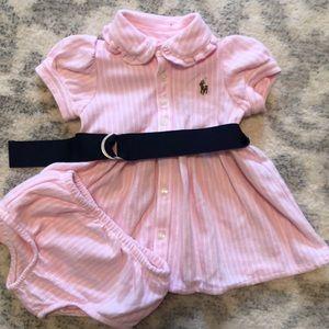 Baby Girl Ralph Lauren Dress and Bottoms